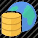 data, database, earth, planet, world