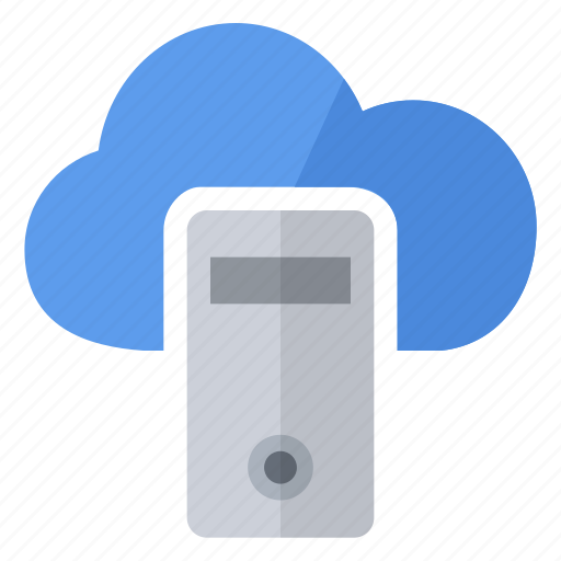 cloud, data, document, file, server icon