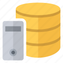 data, database, dedicated, documents, files, server icon