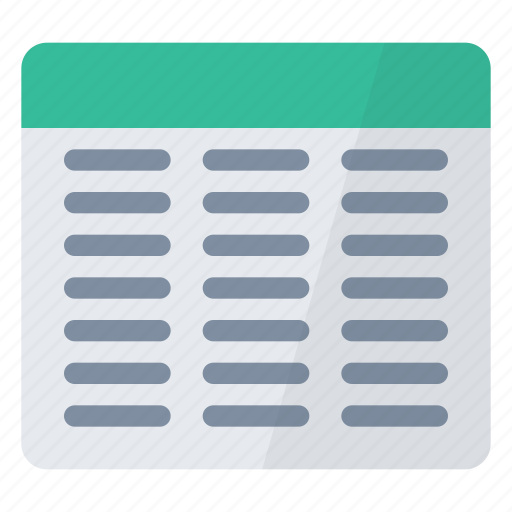 document, query, text icon