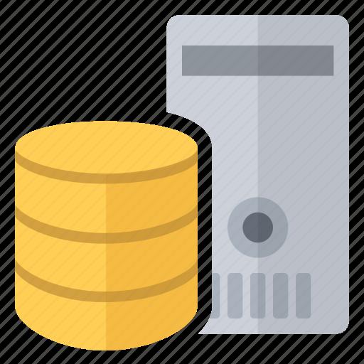 central, data, database, dedicated, server, unity icon