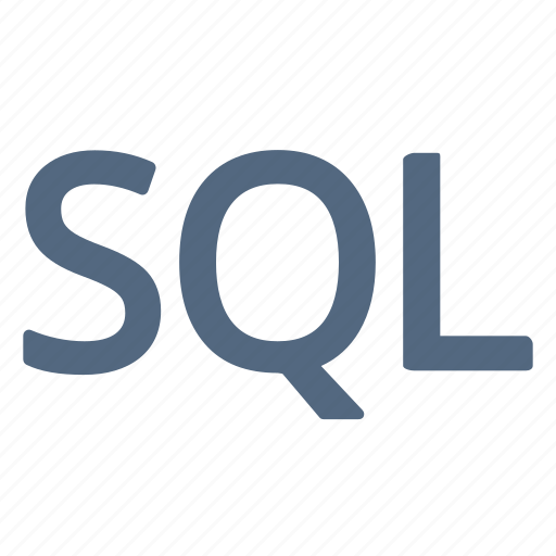 language, query, sql, structured icon