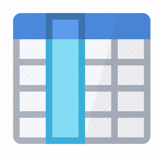 all, column, field, select, table icon