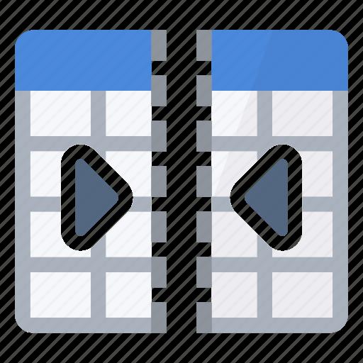 columns, combine, concatenation, join, merge, table icon