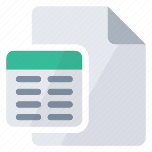 document, overlay, query icon