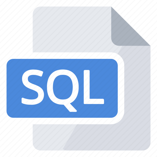 document, langage, query, sql, structured icon