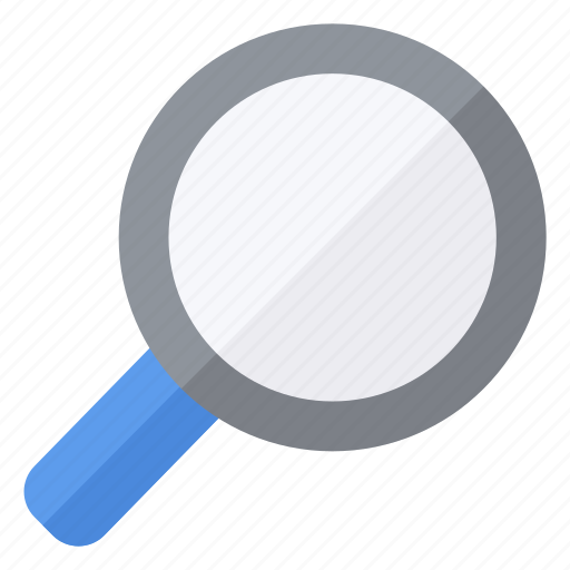 find, glass, look, magnifying icon