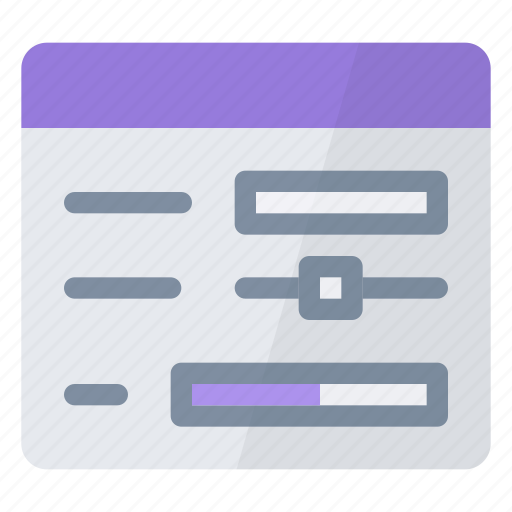 fill, form, information, personal icon