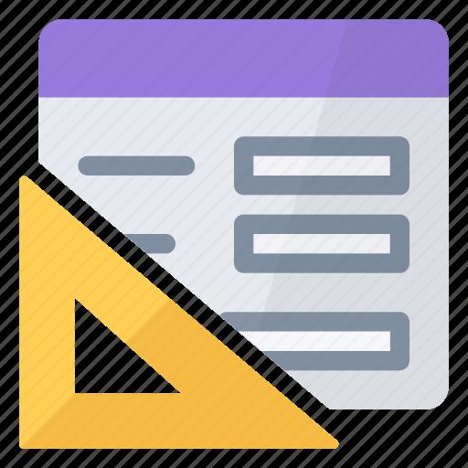 design, form, set, square icon