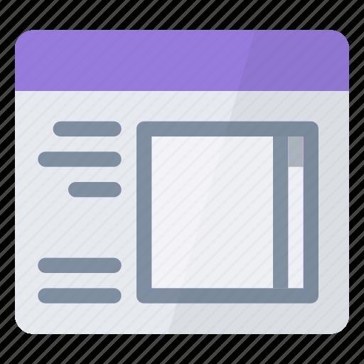 form, list icon