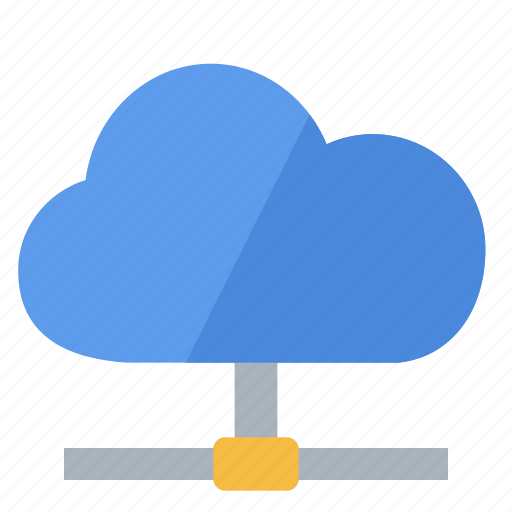 cloud, connected, internet, network, share icon