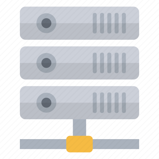 connected, data, network, storage icon