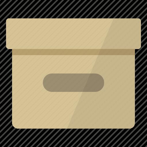 archive, box, documents, files, folders, storage icon