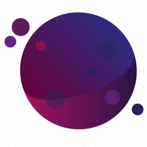 dots1, galaxy, gradients, planet, planets icon