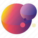 colour, galaxy, gradient, planets, planets1