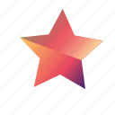 gradient, star, star1 icon