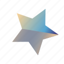 gradient, star, star3 icon