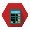 calculator, math, number icon