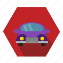 car, driving icon