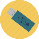 data, disk, drive, flash, storage, usb, usbstick icon