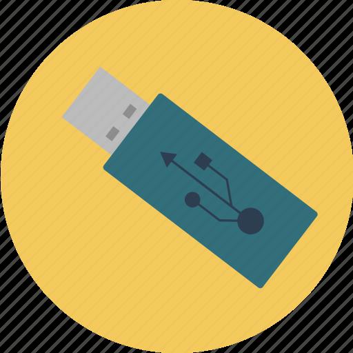 data, disk, drive, flash, storage, usb, usbstick icon