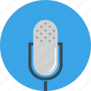 media, microphone, multimedia, music, sound, speaker, volume icon