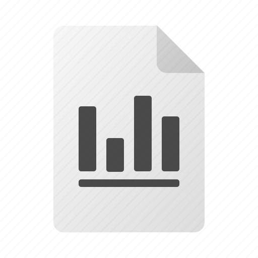 chart, doc, document, file, graph icon
