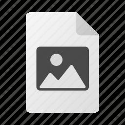 doc, file, image, jpg, photo, picture icon