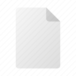 blank, doc, file, page, paper icon