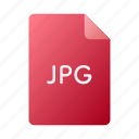 doc, document, file, image, jpg, photo icon