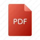 doc, document, file, pdf icon