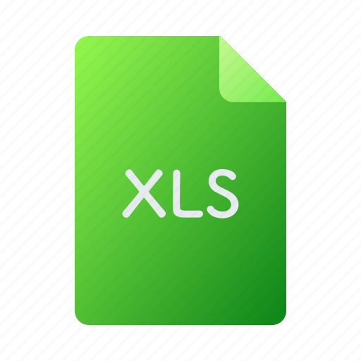 doc, document, file, office, xls icon
