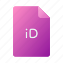 doc, document, file, indesign icon