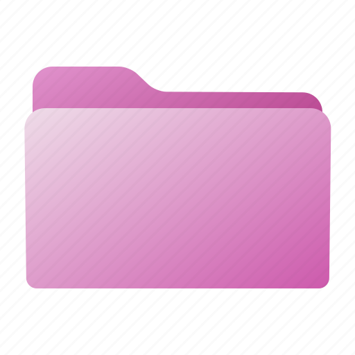 closed, file, folder, pink, purple icon
