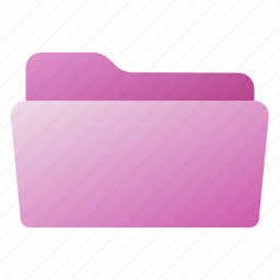 file, folder, open, pink, purple icon