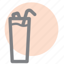 alcohol, bar, drink, glass, lemonade, menu, party icon