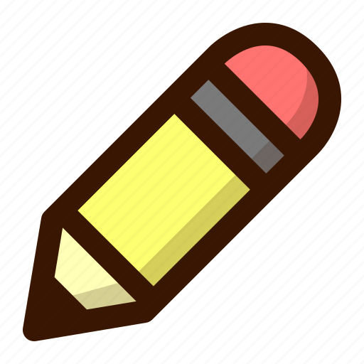Draw, edit, education, paint, pencil, school, write icon - Download on Iconfinder