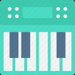 electric piano, musical keyboard, musical keys, piano keyboard, piano keys icon