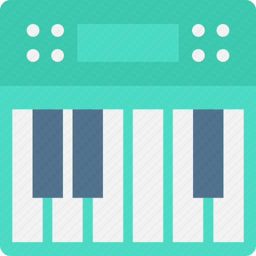 electric piano, musical keyboard, musical keys, piano keyboard, piano keys icon