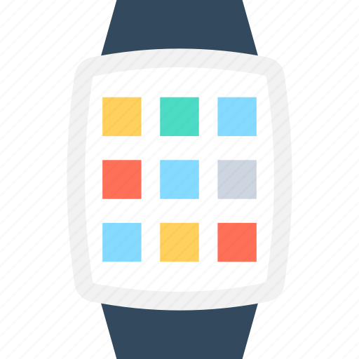 hand watch, smartwatch, timepiece, watch, wristwatch icon