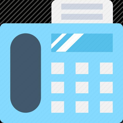 Facsimile, facsimile machine, fax, fax machine, telefax icon - Download on Iconfinder