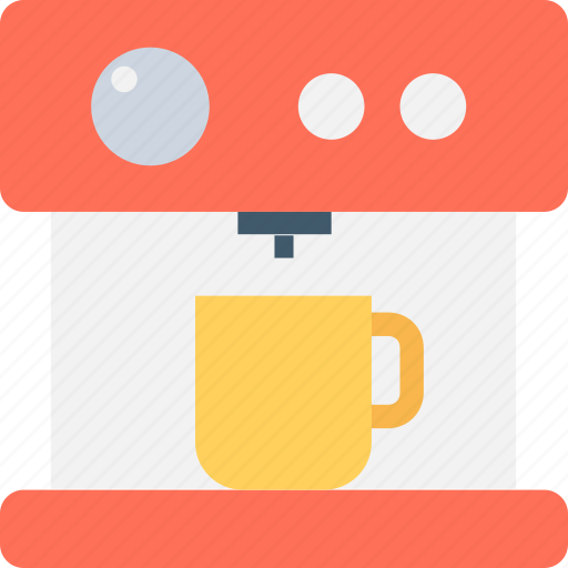 coffee maker, espresso maker, household appliance, kitchen appliance, tea maker icon