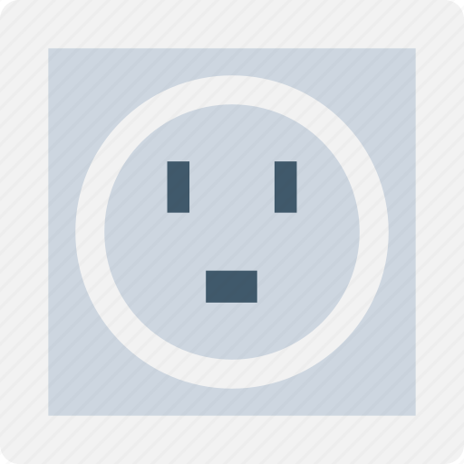 plug in, power socket, power supply, socket, wall socket icon