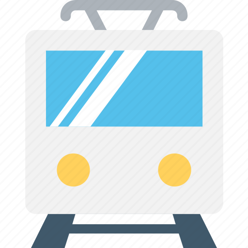 electric train, locomotive, train, tram, tramcar icon