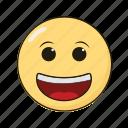 emoji, emoticon, emotikon, ikon, smile icon