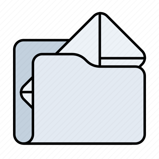email, email folder, folder, mail folder icon