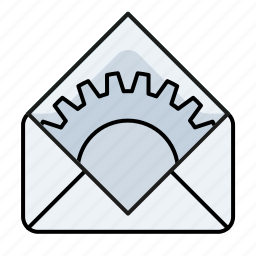 client emal settings, email, system icon