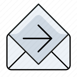 email, email forward, mail forwards, read icon