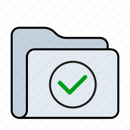 approuved, archive, data, document, documents, folder, format icon