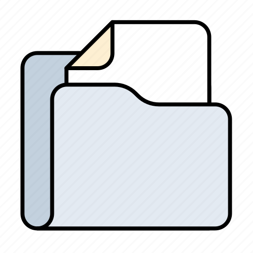 doc, folder, office, page, paper icon
